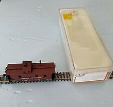 Con-Cor Norfolk & Western Wood Style N Scale Caboose
