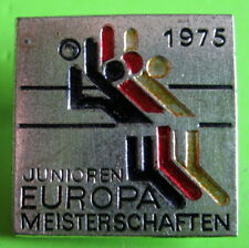 5th JUNIOR EUROPEAN VOLLEYBALL CHAMPIONSHIP WEST GERMANY 1975 BADGE
