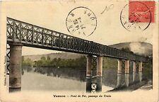 CPA   Vernon - Pont de Fer,passage du Train (297263)