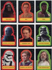 Topps Star Wars Journey to The Last Jedi Sticker You Pick Complete Your Set!
