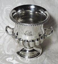 Vaso ad urna Sheffield vittoriano Atkin Brothers Urn Silver Plate Vase c1890's