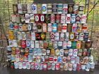 QTY= [140]  VINTAGE  STEEL  BEER CAN COLLECTION  -[EMPTY CANS, READ DESCRIPTION]