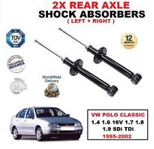 trasero Izquierdo Derecho AMORTIGUADOR PARA VW POLO CLASSIC 1.4 1.6 1.7 1.8 1.9