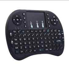 Wireless QWERTY Keyboard + Mouse Pad - Game Controller, Wireless Dongle (Black)