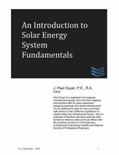 An Introduction To Solar Energy System Fundamentals