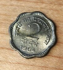 1964 India 2 Paise