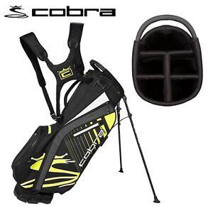 Cobra Ultralight 5-WAY Golf Stand Bag Black/Fluo Yellow - NEW! 2021