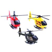 Hélicoptère d'Air Bus modèle Kids enfants tirer ligne plastique Miniavion jouet