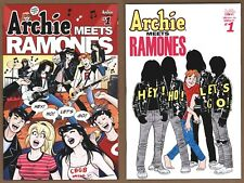 Archie Meets The Ramones 1st and 2nd prints Cover A Gisele Lagace - Unread HTF