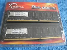 Kit Mémoire G.SKILL 8Go (2x4) DDR3 1333 MHz G.SKILL F3-1600C11S-8GNT Ram Mémoire