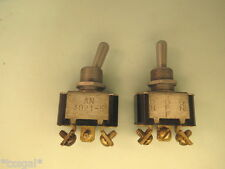 Two each ON/OFF/MOM.ON Toggle Switches AN3021-5