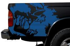 Custom Vinyl Graphics Decal Wrap Kit for 1995-2004 Toyota Tacoma TRD SCREAM Blue