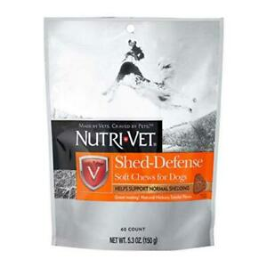 Nutri-Vet Shed Defense for Dogs Formulated with Omega-3 & 6 Fatty Acids 5.3