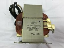 New OEM Sharp Microwave High Voltage Transformer RTRN-A716WRZZ Zebra TAR-220ATT