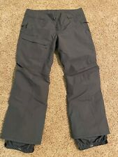 Patagonia Powder Bowl Pants Forge Gray Grey Mens XL Regular Length Worn Twice