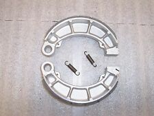 CX650C GL650 GL650I SILVER WING REAR GROOVED BRAKE SHOES WITH HEAVY DUTY SPRINGS