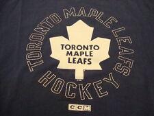NHL Toronto Maple Leafs Canada Canadian National Hockey Fan Reebok T Shirt L