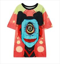Freak Show Top T-Shirt Kawaii Harajuku Hip Hop Goth - LS0057