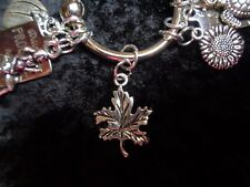 Watch to Weight FALL off! Maple Leaf Charm for your Weight Watchers Keychain