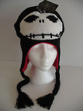 Nightmare Before Christmas Jack Skellington Laplander Hat Cap Licensed Brand New
