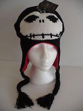 Nightmare Before Christmas Jack Skellington Laplander Hat Cap Licensed Brand New