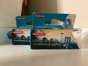 Lomochrome Turquoise 120 Film Expired Lot of Two Rolls