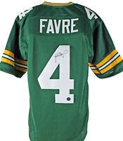 Packers Brett Favre Authentic Signed Green Jersey w/ Favre Hologram & COA