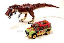 Photo.  Toy Lego Big Dinosaur & Small Truck