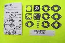 Tecumseh TC200 TC300 640230 640231 Tillotson Carburetor  Repair kit RK-18HU New
