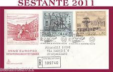 VATICANO FDC CAPITOLIUM V 92 1975 ANNO EUROPEO PATRIMONIO ARCHITETTONICO (452)