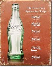 Coca Cola Script Evolution (De)