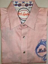 NEW men ROBERT GRAHAM 3XL XXXL NEW YORK METS SHIRT EMBROIDERED LOGOS COLLECTOR
