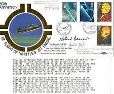 5 MARCH 1991 SCIENTIFIC ACHIEVEMENT SIGNED ROLAND BEAMONT & NEVILLE DUKE FDC SHS