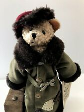 Retired Traveling Tompkins Bear Authentic Collector's Doll Italy
