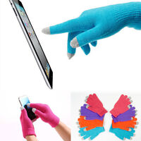 Touch Screen Gloves Smartphone Texting Stretch Adult One Size Winter Knit Hot