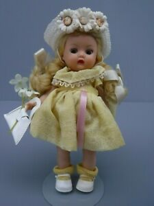 Nancy Ann Storybook Muffie Doll Yellow Braids *loose arms*