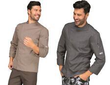 Jacket Barber Man Bilbao Long Sleeve 2 Colours Cotton Blend ISACCO