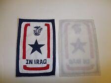 b8338 USMC Iraq In Service In Iraq Window Hanger