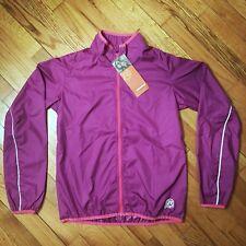 NEW Novara girls cycling jacket, Windbreaker, L, 14-16, Purple