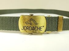 Vintage Jordache Canvas Belt Green with Buckle
