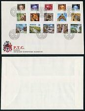Rhosesia Complete Set to Two Dollors on FDC 16 Aug 1978