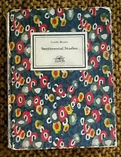 "1920 SIGNED GUIDO BRUNO ""SENTIMENTAL STUDIES"" INSCRIBED TO ""ELEANORE"" DEC BOARDS"