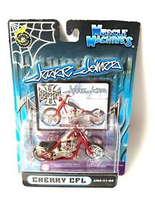 Muscle Machines Jesse James Cherry CFL 1/31 Scale Diecast motorcycle NIP