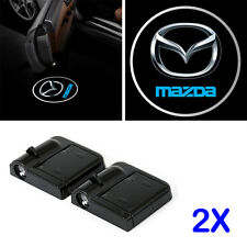 Door Projector Mazda Logo Led Light Shadow Lamp Wireless Welcome Warning Laser 2