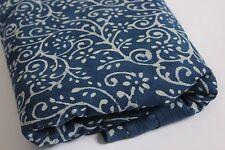 5 yards Printed sanganei cotton fabric hand block printed Cotton Print fabric