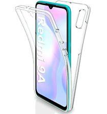 Cover Für Xiaomi Redmi 9A Schutzhülle Transparent Vorne Retro Komplett TPU 360