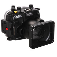 Seafrogs 40m 130ft Underwater Waterproof Dving Housing Case for Fujifilm X-t20
