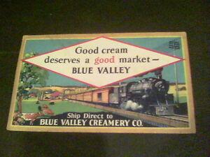 Good cream deserves a good market Blue Valley card e4