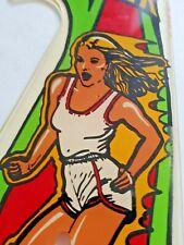 1980 BALLY SKATEBALL PINBALL MACHINE PLAYFIELD PLASTIC FLIPPER SKATE BALL