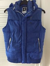 G-STAR Raw Hooded Vest Jacket Whistler WMN Vest Blue Size XL Ladies